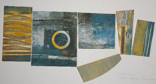 estella-scholes-natural-defences-rainy-evening-collagraph