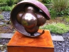 Embryo,-bronze-on-Cor-ten-steel