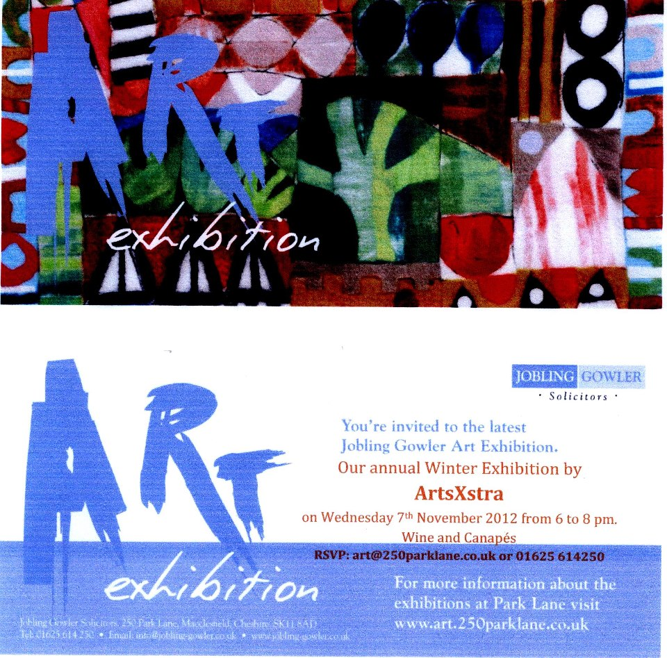 Winter Exhibition At Joblings 5/11/12 to 11/01/13